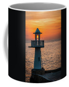 Sunset Lighthouse Coffee Mug