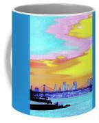 Sunset Lower Manhattan 2c5 Coffee Mug