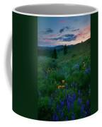 Sunset Meadow Trail Coffee Mug