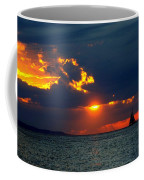 Sunset Montauk Ny Coffee Mug