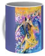 Sunset Mustang Coffee Mug