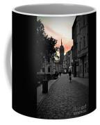 Sunset Of Castle Church Coffee Mug
