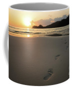 Sunset On A Beach Coffee Mug