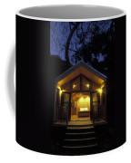 Sunset On A Cabin At El Capitan Canyon Coffee Mug