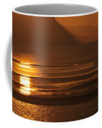 Sunset On Coast Of North Wales Coffee Mug