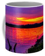Sunset On Crab Orchard Coffee Mug