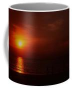 Sunset On Darwin Beach Coffee Mug