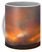 Sunset On Fire Coffee Mug