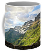 Sunset On Going To The Sun Road Coffee Mug
