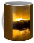 Sunset On Golden Ponds Coffee Mug