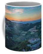 Sunset On Hills Coffee Mug