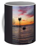 Sunset On Lake Dora At Mount Dora Florida Coffee Mug