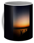 Sunset On Lake Geneva Coffee Mug