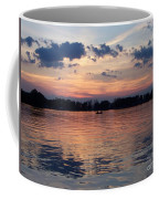 Sunset On Lake Mattoon Coffee Mug