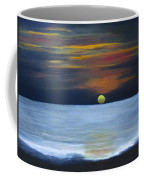 Sunset On Lake Michigan Coffee Mug