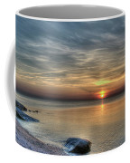 Sunset On Long Island Sound Coffee Mug