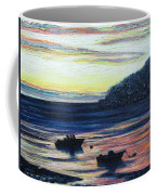 Sunset On Maine Coast Coffee Mug