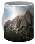 Sunset On Mighty Mountain Coffee Mug