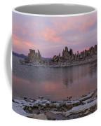 Sunset On Mono Lake Coffee Mug
