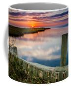 Sunset On Pamlico Sound Coffee Mug