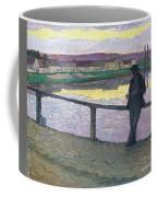 Sunset On Pont Coffee Mug