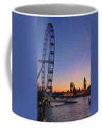 Sunset On River Thames Coffee Mug by Jasna Buncic