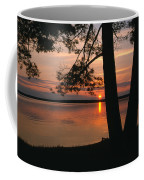 Sunset On Sister Bay Coffee Mug