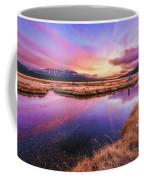Sunset On Sparks Marsh Coffee Mug
