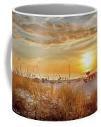 Sunset On St Pete Coffee Mug