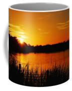 Sunset On The Alafia Coffee Mug