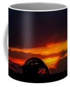 Sunset On The Battlefield Coffee Mug