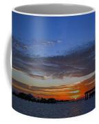 Sunset On The Bay Coffee Mug