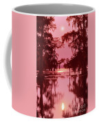 Sunset On The Bayou Atchafalaya Basin Louisiana Coffee Mug