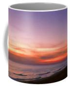 Sunset On The Beach At Cape San Blas, Florida Coffee Mug