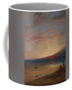 Sunset On The Beach At Sark Coffee Mug