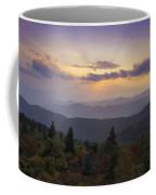 Sunset On The Blue Ridge Parkway Coffee Mug by Rob Travis