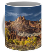 Sunset On The Castle Coffee Mug