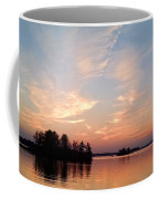 Sunset On The Chippewa Coffee Mug