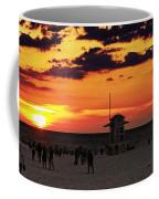 Sunset On The Clearwater Beach Coffee Mug