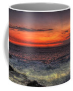 Sunset On The Harbor Coffee Mug