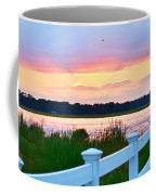 Sunset On The Indian River Coffee Mug