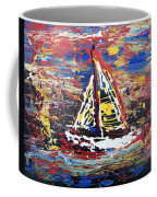 Sunset On The Lake Coffee Mug by J R Seymour
