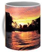 Sunset On The Murray River Coffee Mug