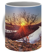 Sunset On The Osage River Coffee Mug