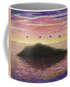 Sunset On The Pacific Coffee Mug