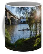 Sunset On The River - Seville  Coffee Mug