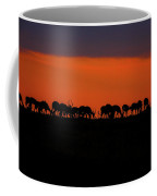 Sunset On The Serengeti Coffee Mug