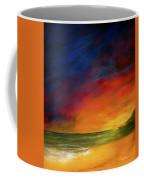 Sunset On The Shore Coffee Mug