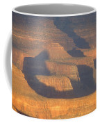 Sunset On The South Rim Of The Canyon Coffee Mug