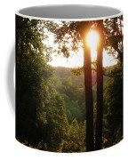 Sunset On The Trace Coffee Mug